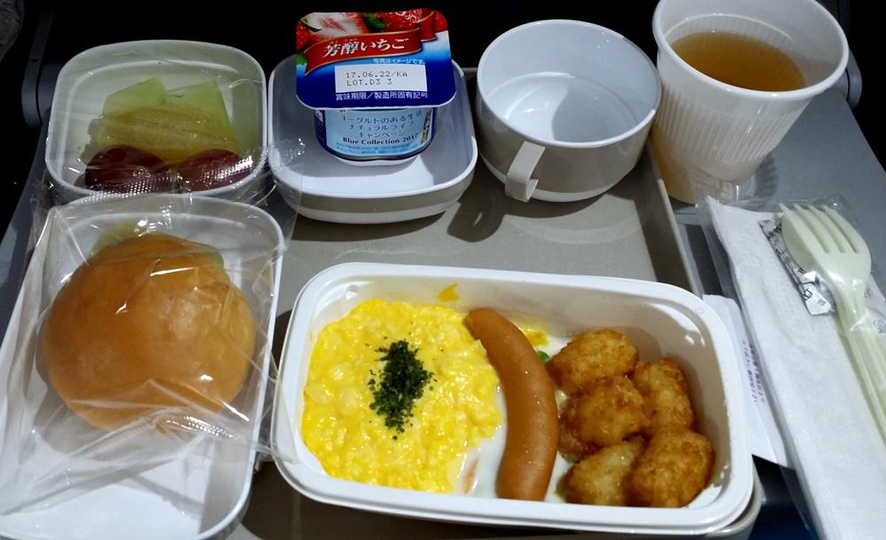 エアチャイナ機内食1