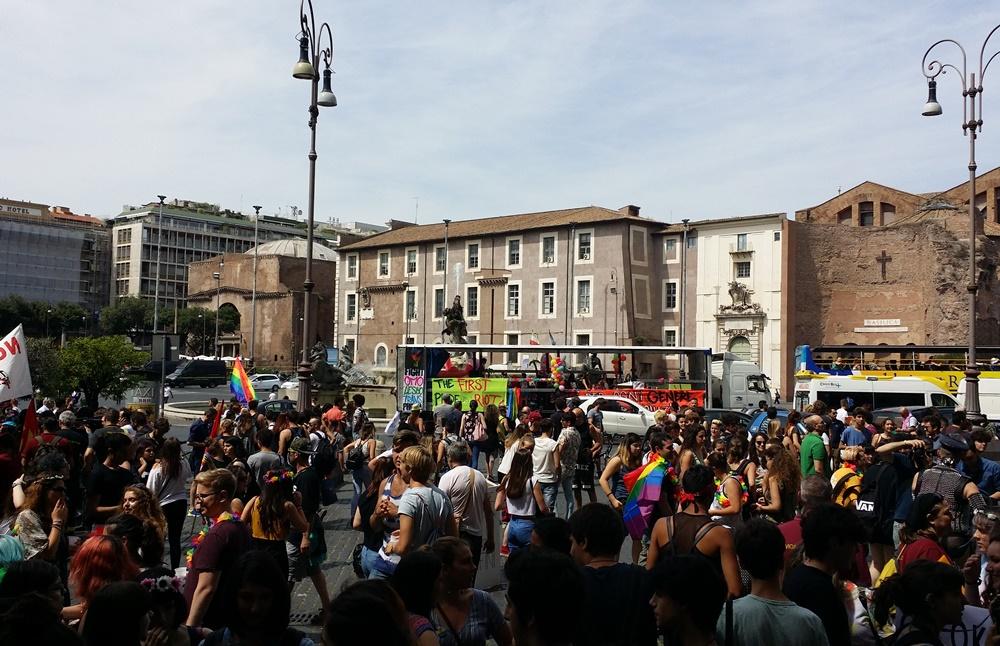 Rome Pride2017 共和国広場