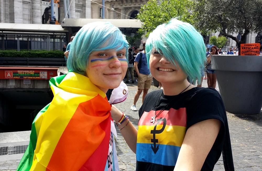 Rome Pride2017 カップル