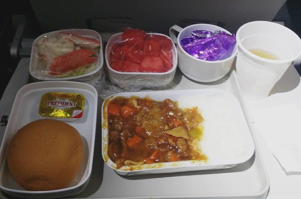 エアチャイナ機内食2