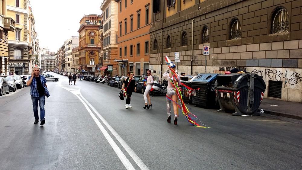 Rome Pride2017 3人