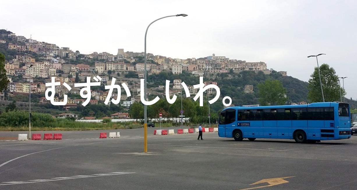 市バスの乗り方