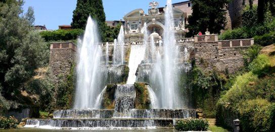 ヴィッラ・デステの噴水