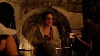 ナポリ地下ツアーのガイド