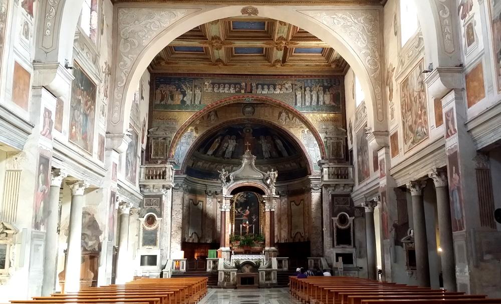 サンタ・プラッセ―デ教会
