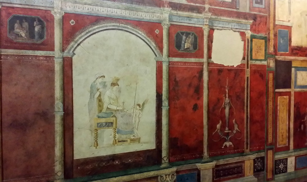 ファルネジーナ荘の壁画