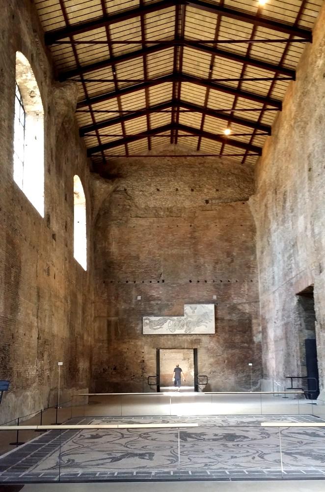 ディオクレティアヌス浴場跡