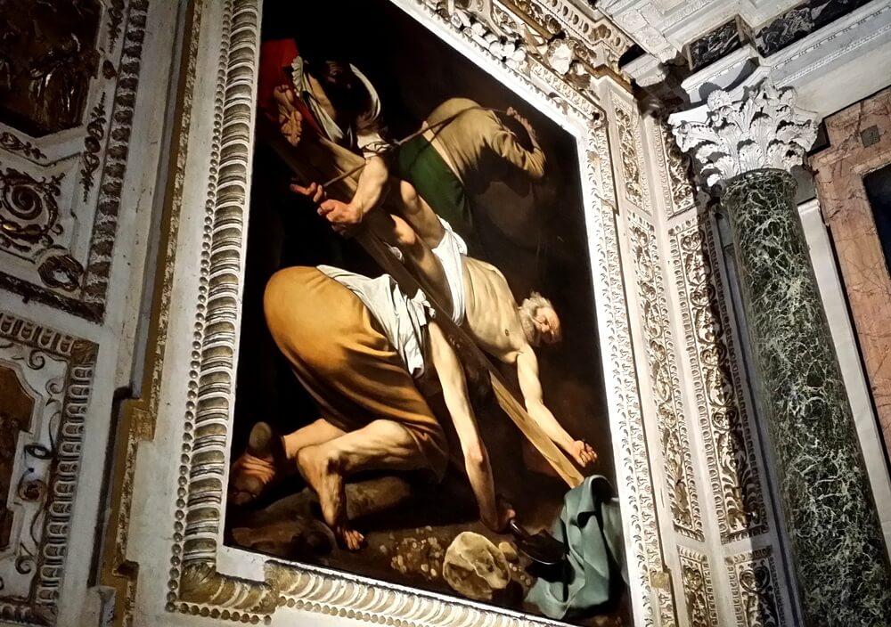 「聖ペテロの逆さ磔」