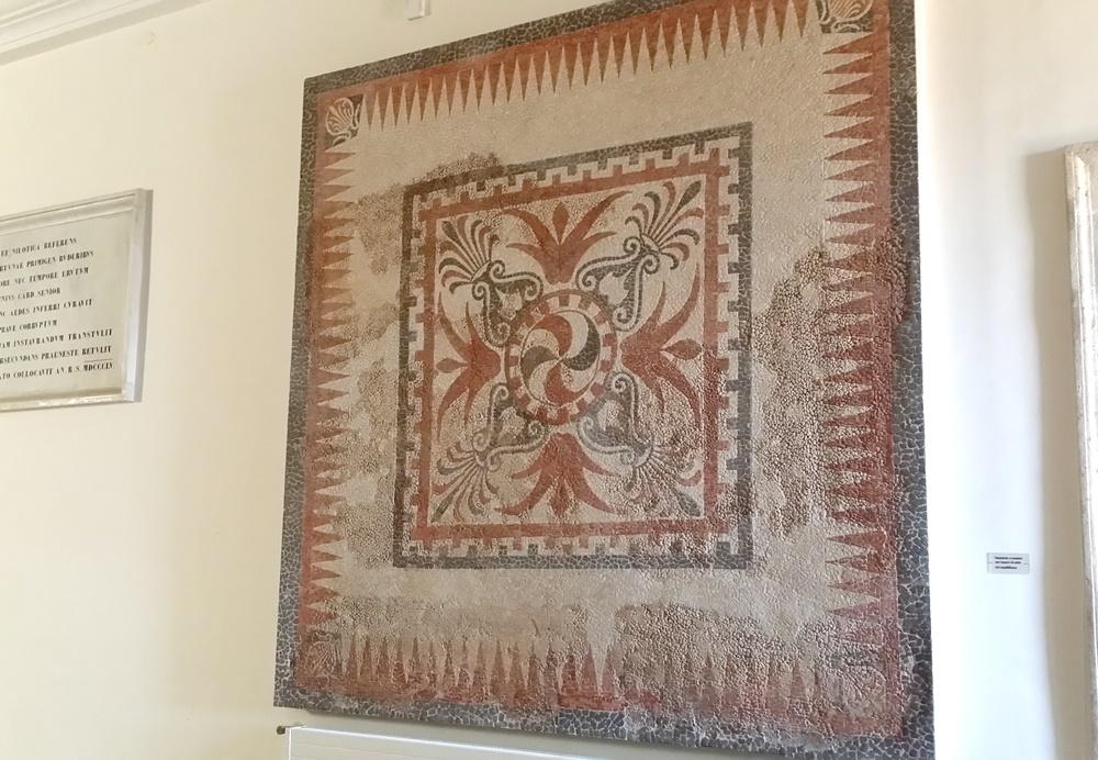 国立バルベリーニ考古学博物館のモザイク