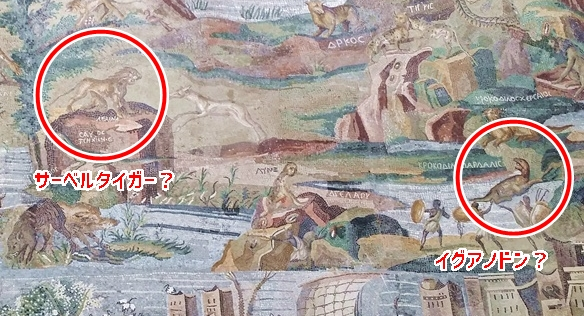 ナイル川のモザイクの謎