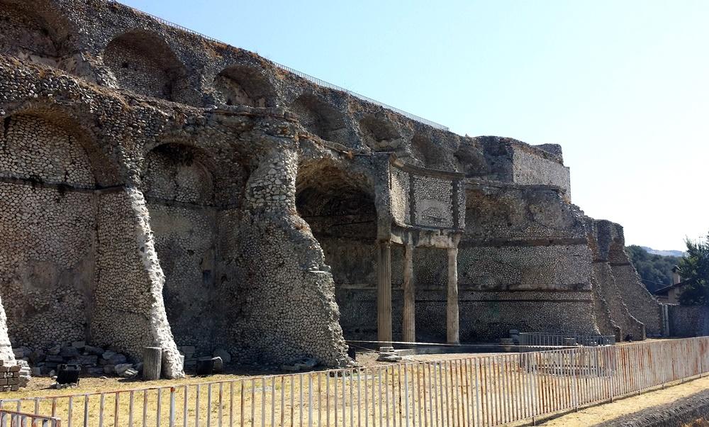神殿の遺跡