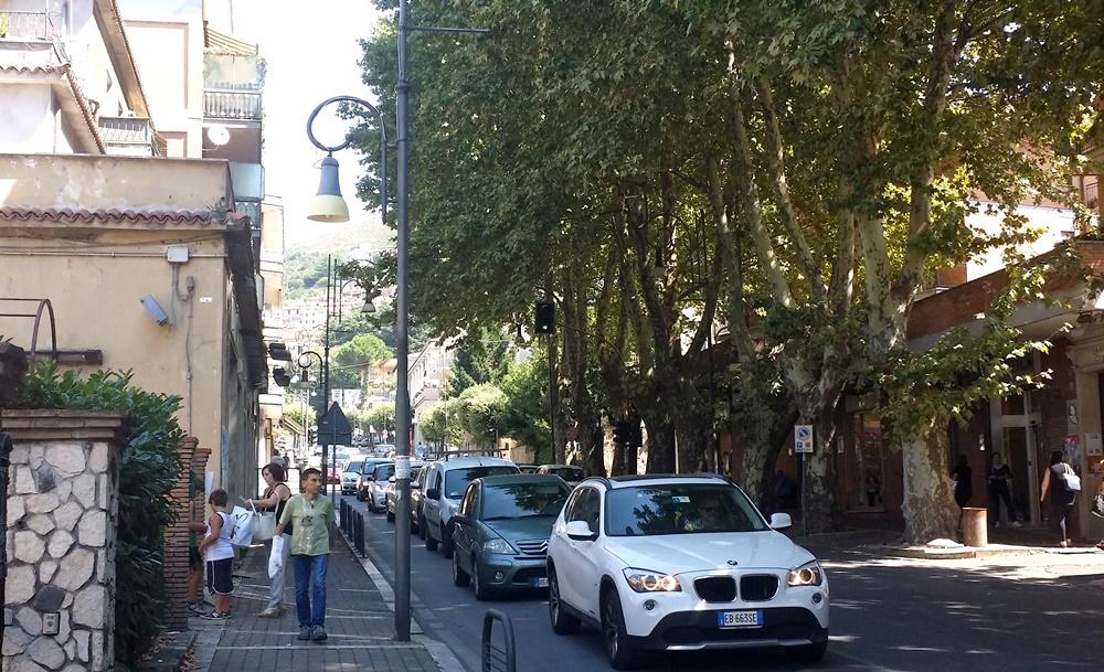 パレストリーナのバス停