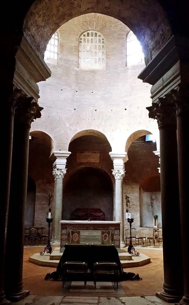 サンタ・コスタンツァ教会内部