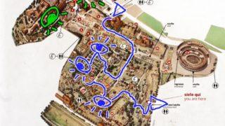 フォロ・ロマーノの地図