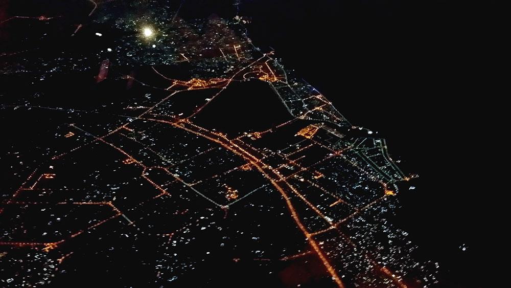 ドバイの夜景