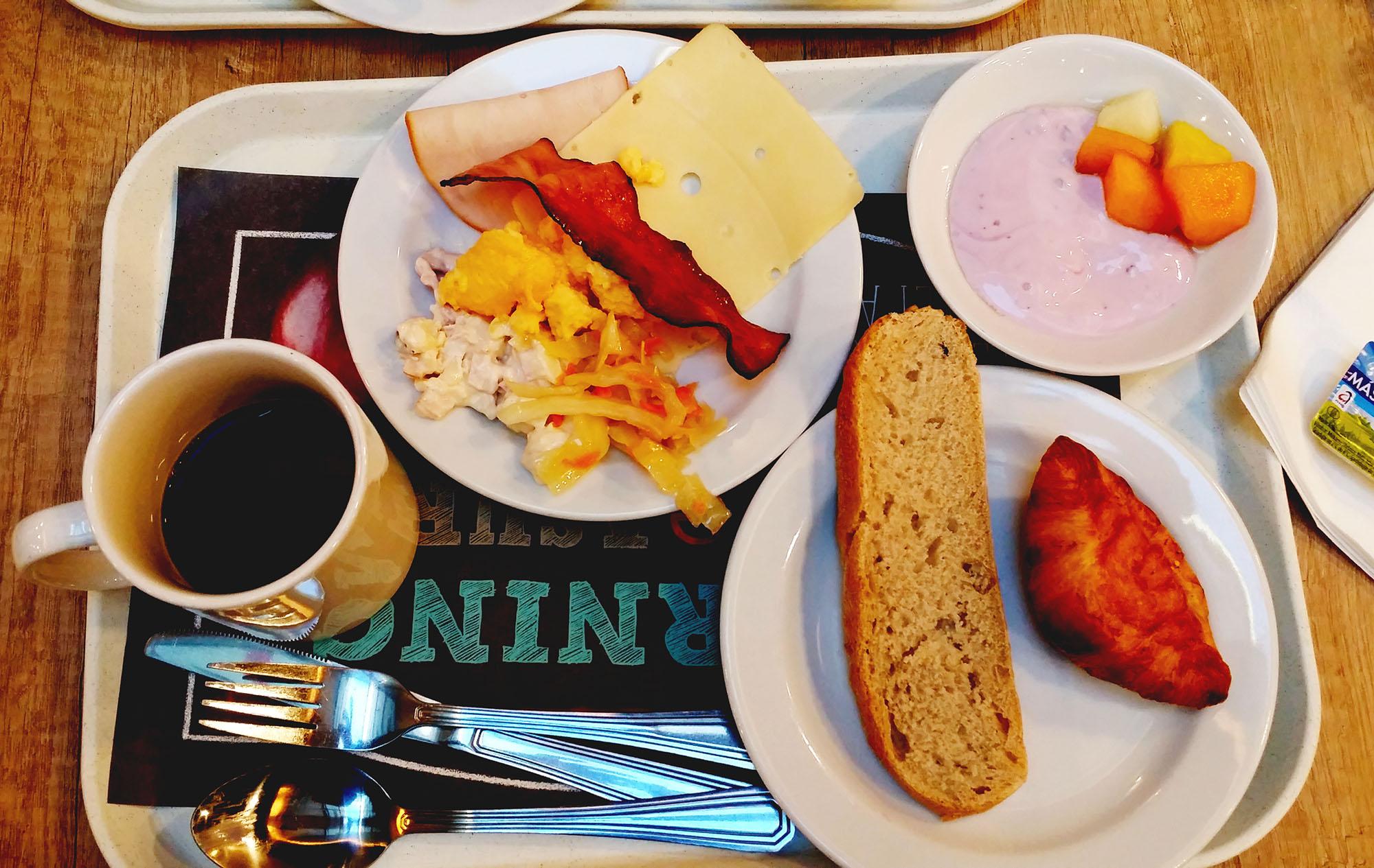 イビス・プラハ・オールド・タウンホテルの朝食