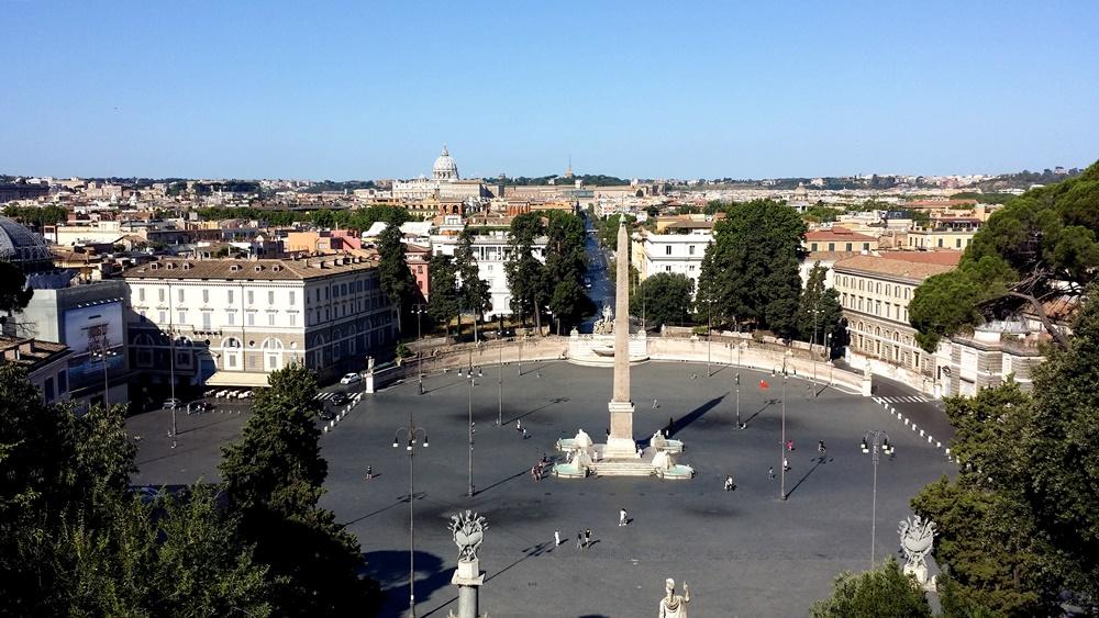 ポポロ広場の絶景
