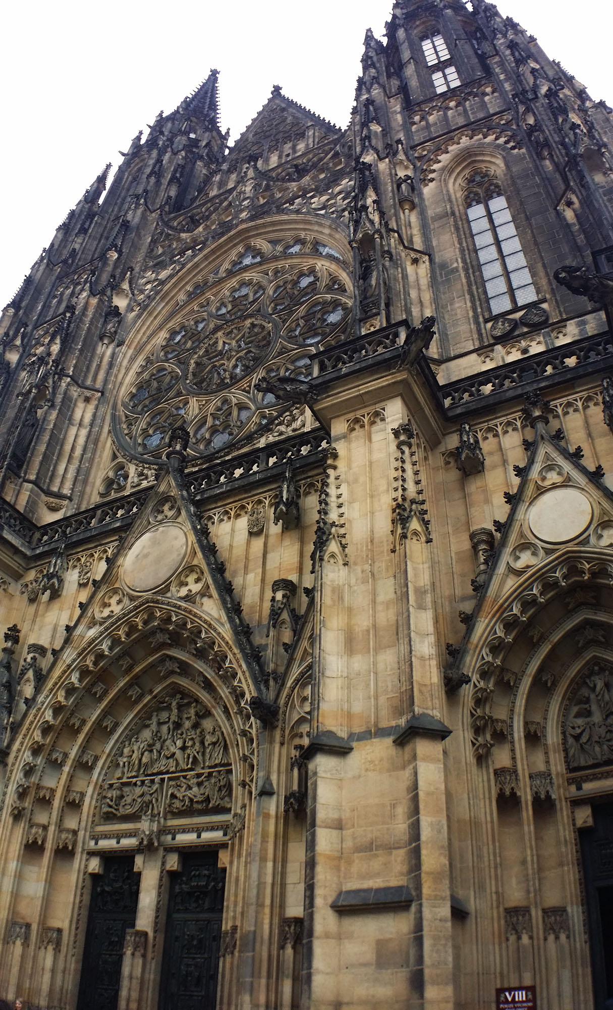 聖ヴィート大聖堂のファサード