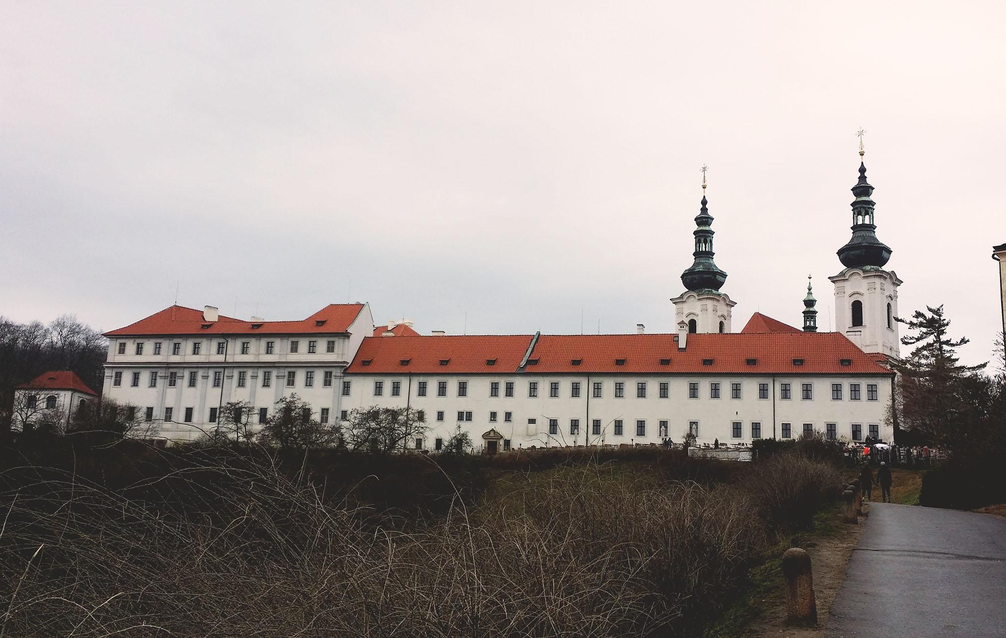 ストラホフ修道院外観