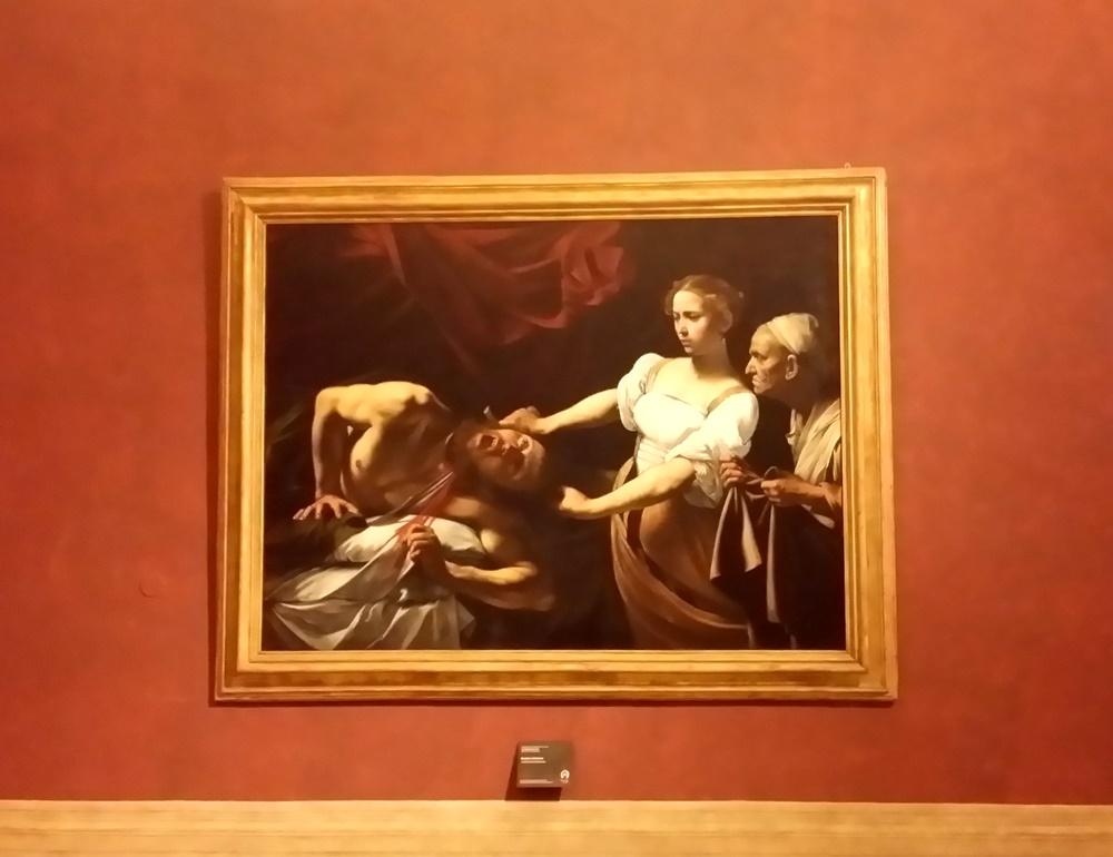 ホロフェルネスの首を斬るユディト