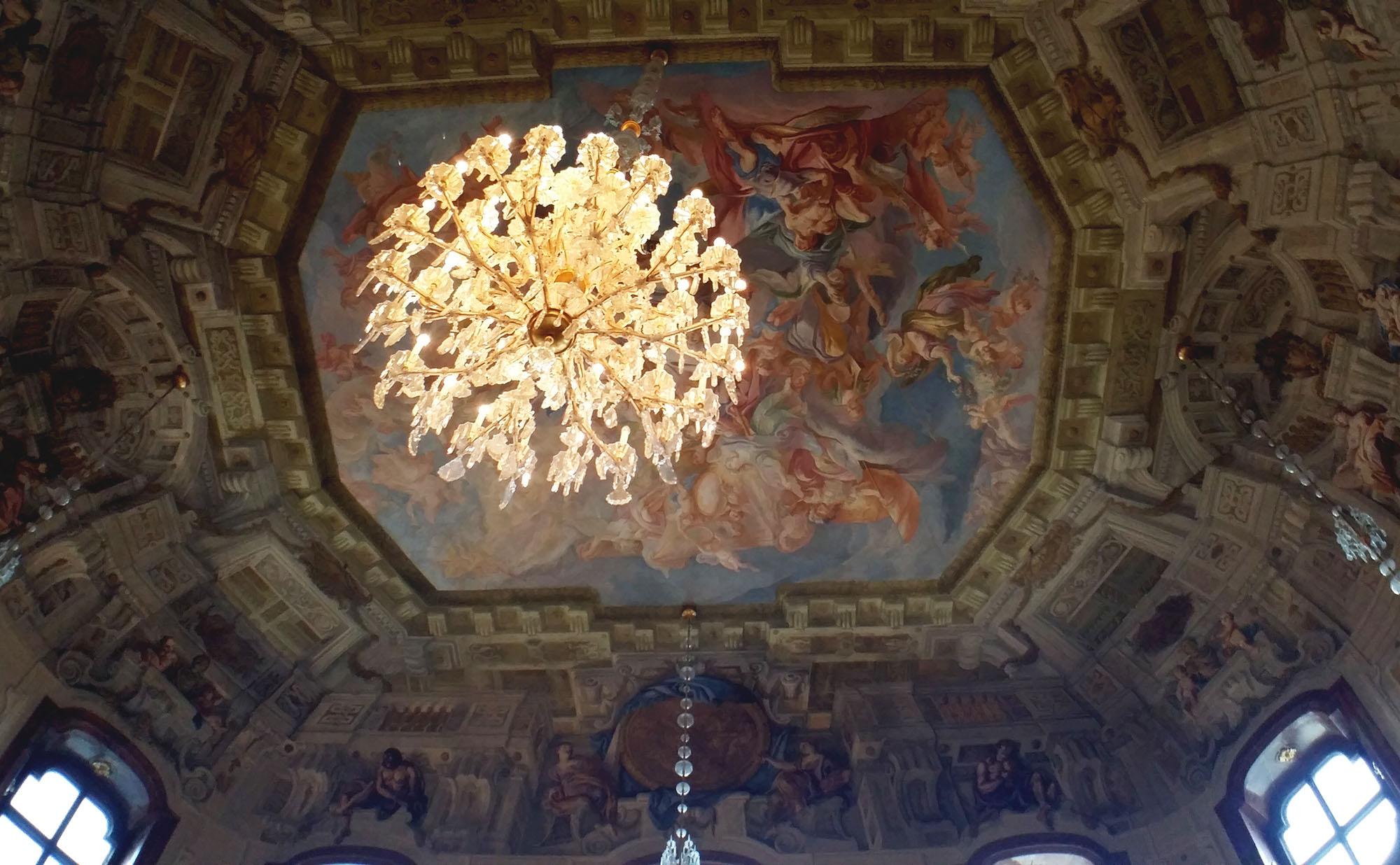 ベルヴェデーレ宮殿の天井画