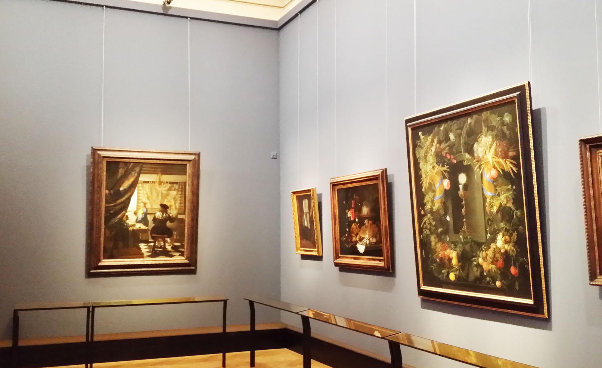 フェルメール「絵画芸術」の部屋