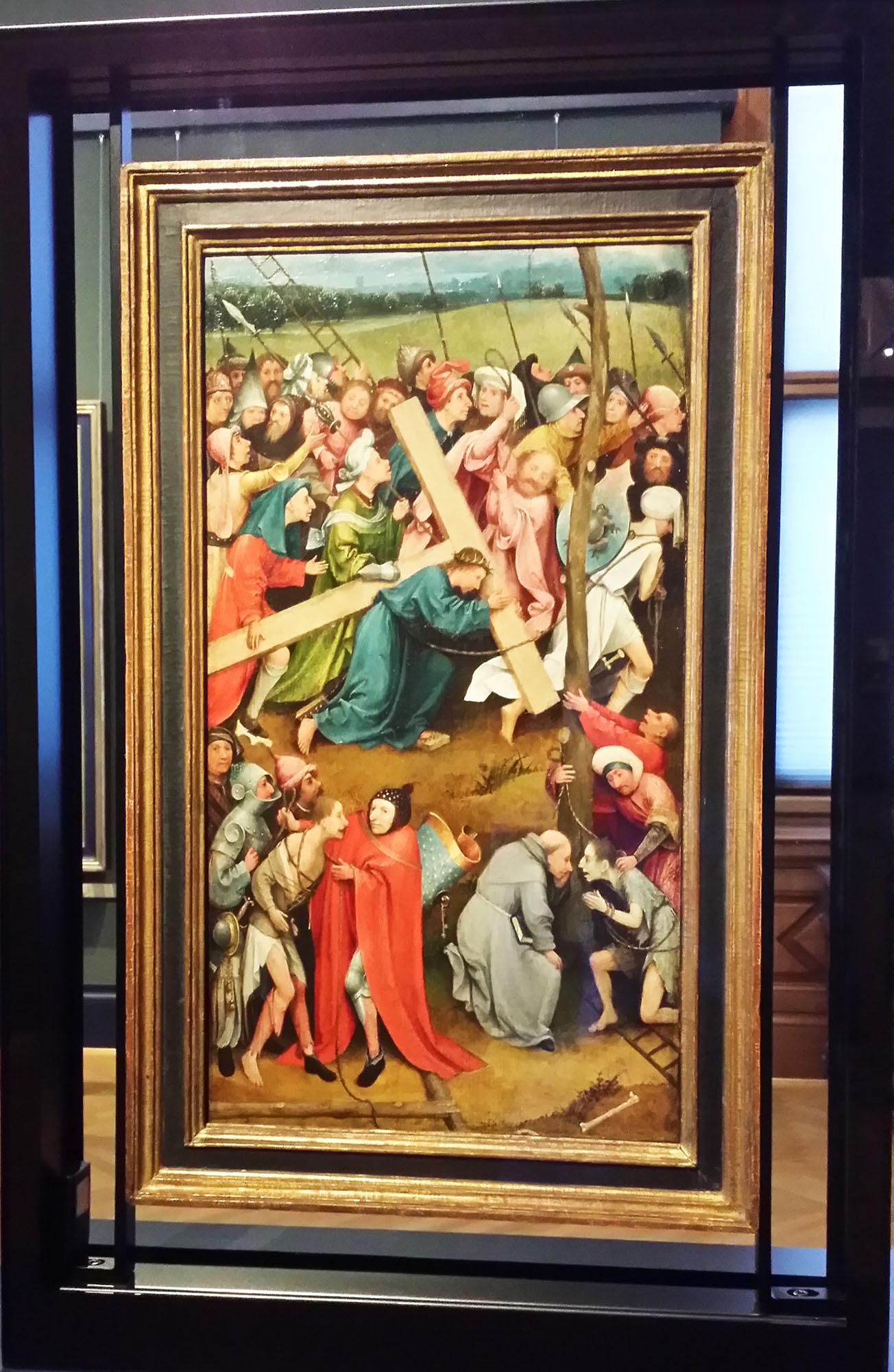 ヒエロニムス・ボス作「十字架を運ぶキリスト」